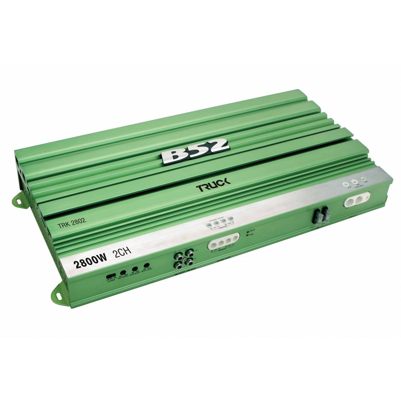 Módulo Amplificador Automotivo B52 TRK 2802 Verde