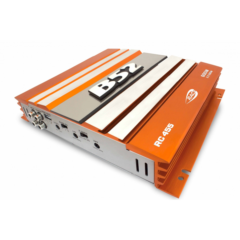 Módulo Amplificador Automotivo B52 RC 455 Laranja