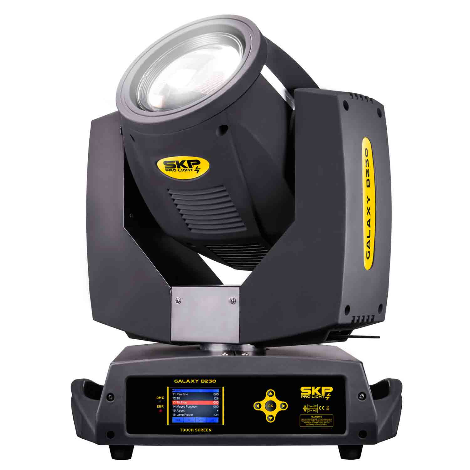 Moving Head Beam e Wash Galaxy B230 7R 230W SKP Pro Light