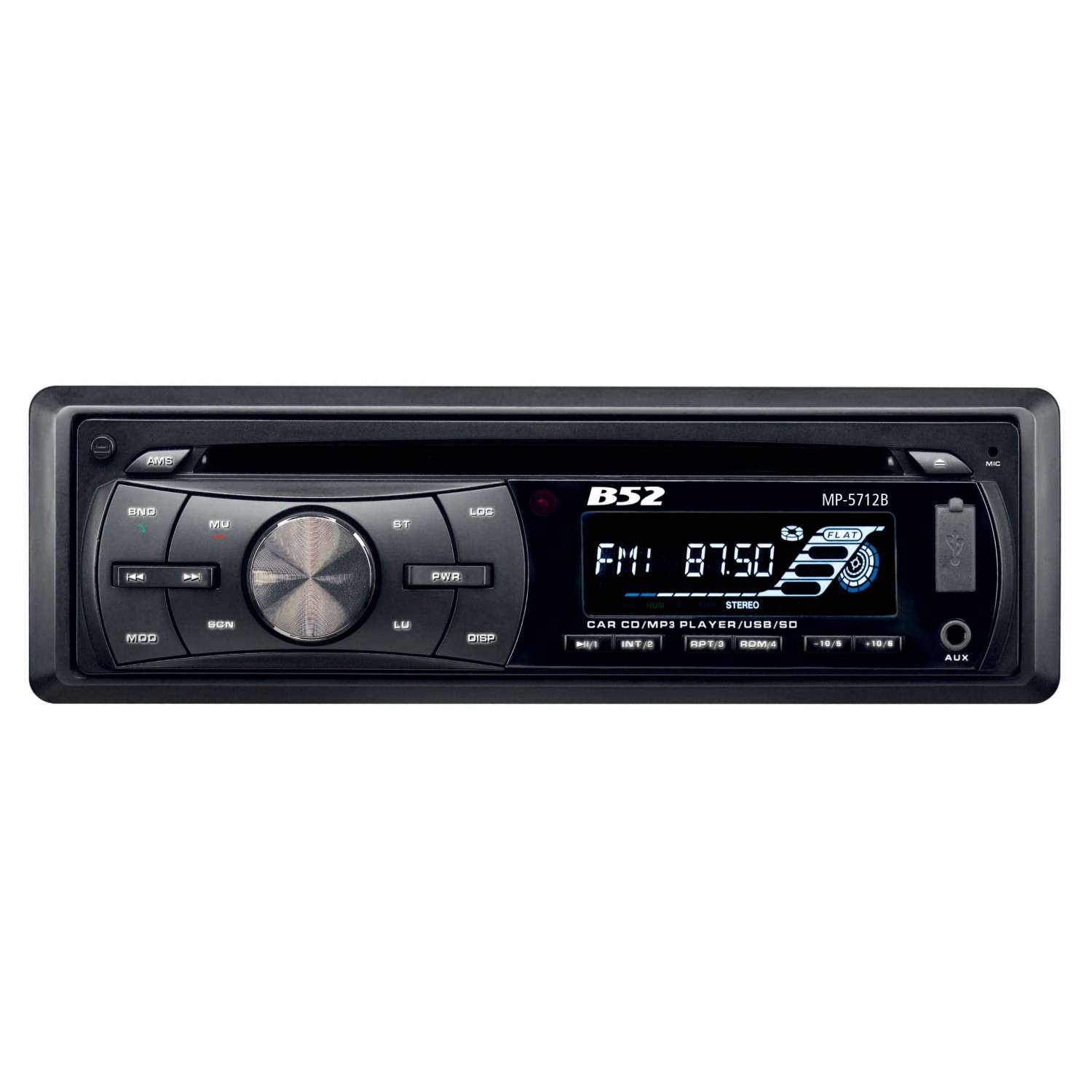 Rádio Automotivo com MP3 B52 MP 5712B