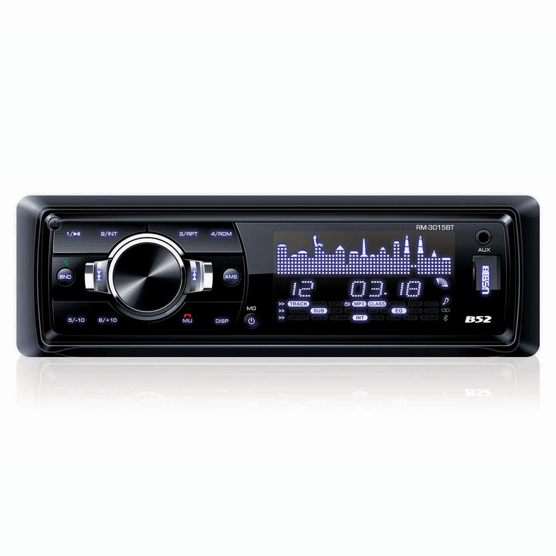 Rádio Automotivo com MP3 e Bluetooth B52 RM 3015 BT