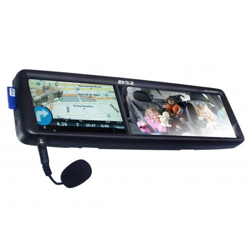 Retrovisor Com Gps, Bluetooth e Câmera B52 MLC6060