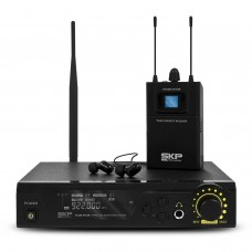 Sistema de Monitoramento UHF SKP Stage In Ear