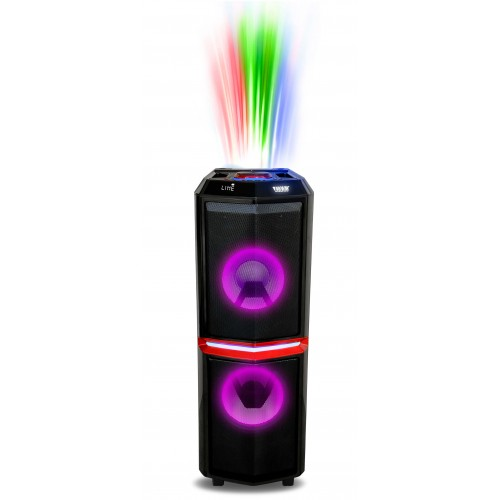 Mini System Portátil com Bluetooth e Bateria Novik Neo Thunder