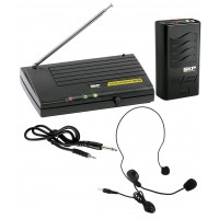 Microfone Profissional Sem Fio SKP VHF 855