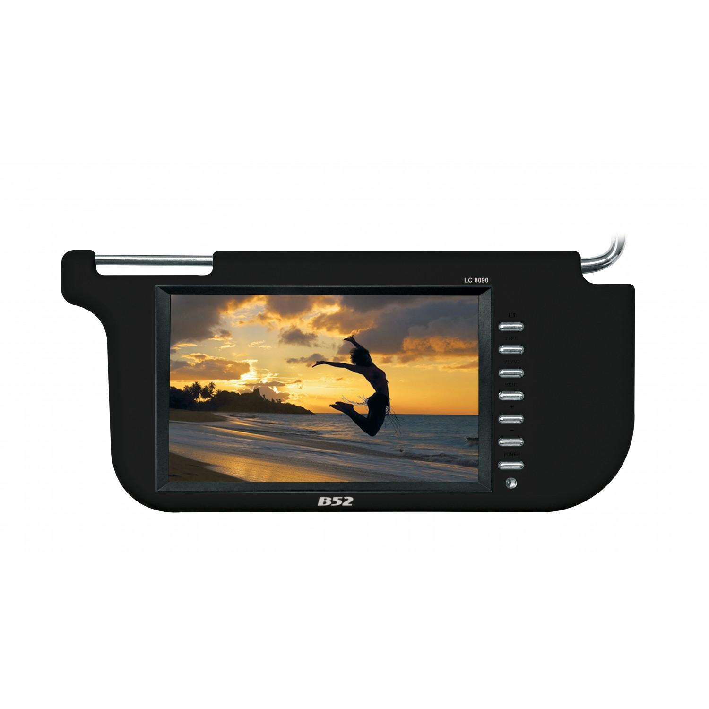 Tela Quebra Sol LCD 9 polegadas B52 LC-8090 Preta