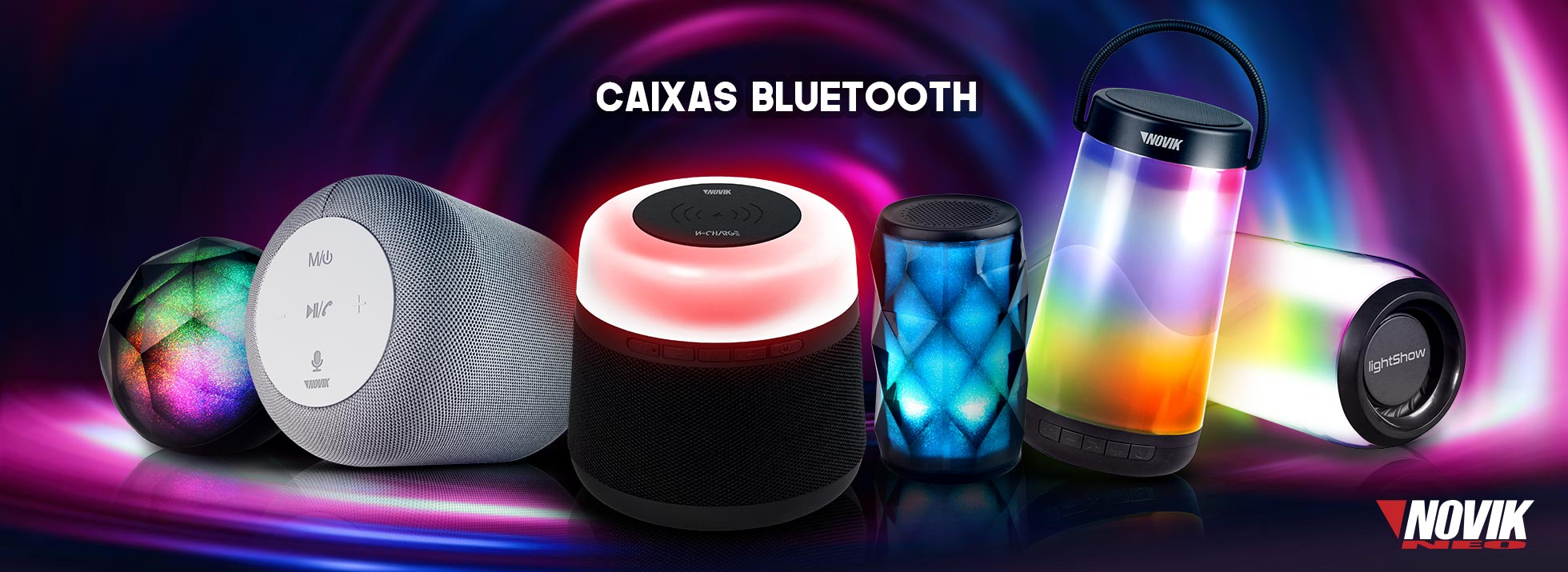 Caixas Bluetooth